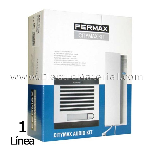 Fermax Door Entry Kit 1 Line Electromaterial