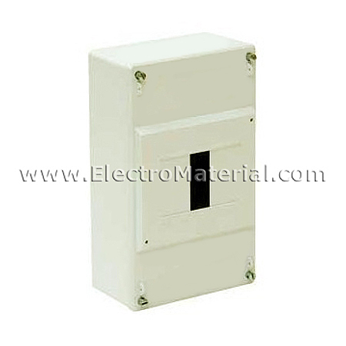 Cuadro el ctrico de superficie de 4 elementos icp hasta 40a - Cuadro electrico domestico ...