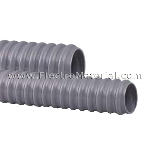 Tubo flexible zapa de pl stico pg 16 electromaterial for Tubo de pvc flexible