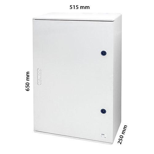 Armario de poli ster con puerta 650x515x250 electromaterial - Armarios de plastico para ropa ...