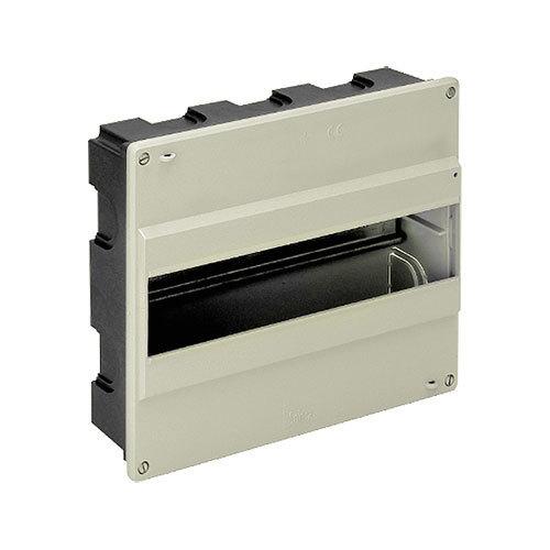 Cuadro el ctrico de empotrar de 14 elementos electromaterial - Cuadro electrico domestico ...