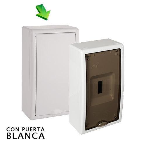 Cuadro el ctrico de superficie de 4 elem icp hasta 63a - Cuadro electrico domestico ...