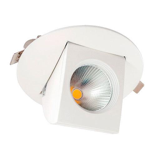 Foco led cob circular orientable de 14w luz d a 4200k - Embellecedores de luz ...