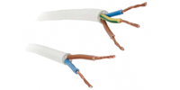 WHITE HOSE CABLE H05VVF
