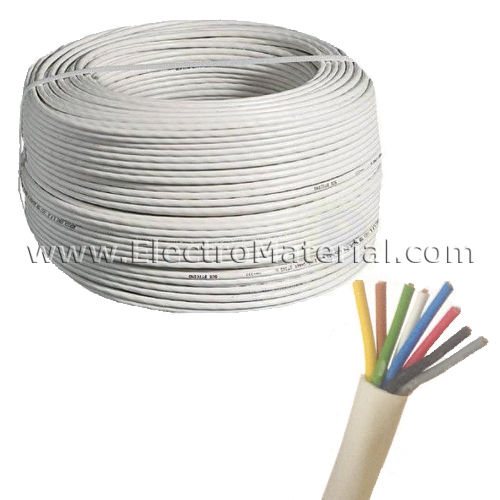 Electronic door Cable 8x0,25 mm