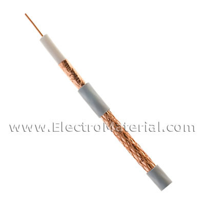 Satellite Coaxial Cable Copper + Copper