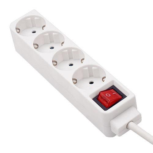Base de superficie con cable e interruptor de 4 enchufes - Precio de enchufes ...