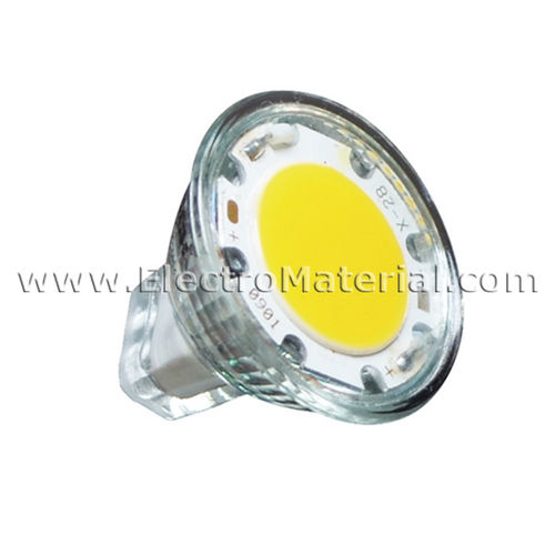 Dicroica LED 35 mm GU4-MR11 12V 1,8W Luz cálida