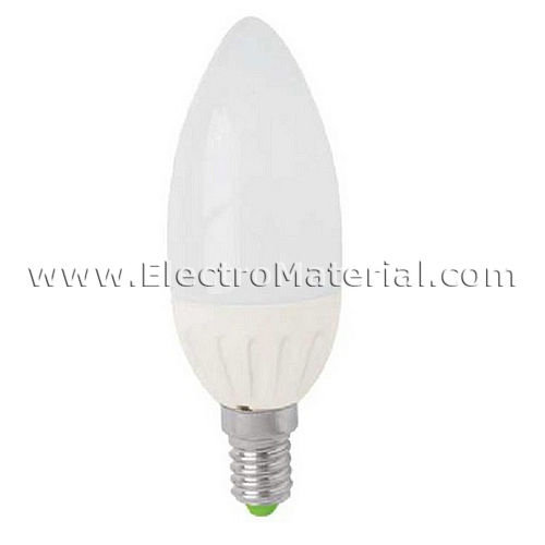 E-14 LED Candle Light 5W cold
