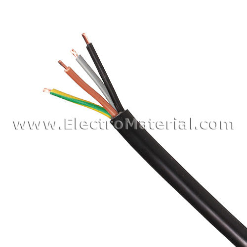 RVK Power Cable 0.6 / 1 kV 4x2, 5mm