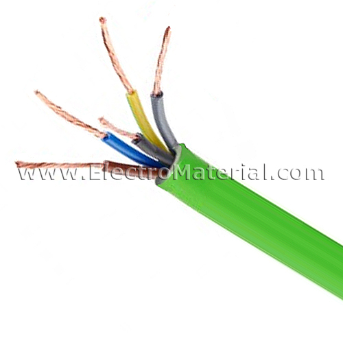 Cable de energ a rz1 k as 0 6 1kv de 5x2 5 mm libre de for Cable libre de halogenos 25mm