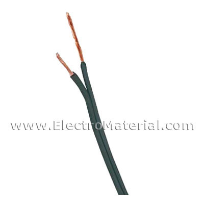 Parallel cable Black 2x0, 75 mm