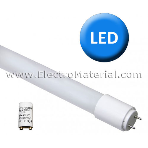 LED tube 60 cm - Direct Replacement 9W Cold light 6000K