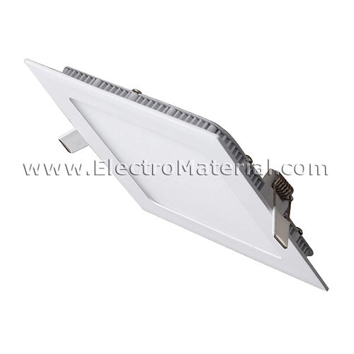 LED Downlight Extra-square White 12W Cold Light 6000K