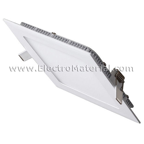 LED Downlight Square Extra Large 18W White Cold Light 6000K