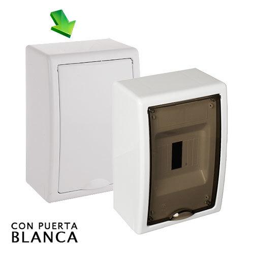 Cuadro el ctrico de superficie de 4 elem icp hasta 40a - Cuadro electrico domestico ...