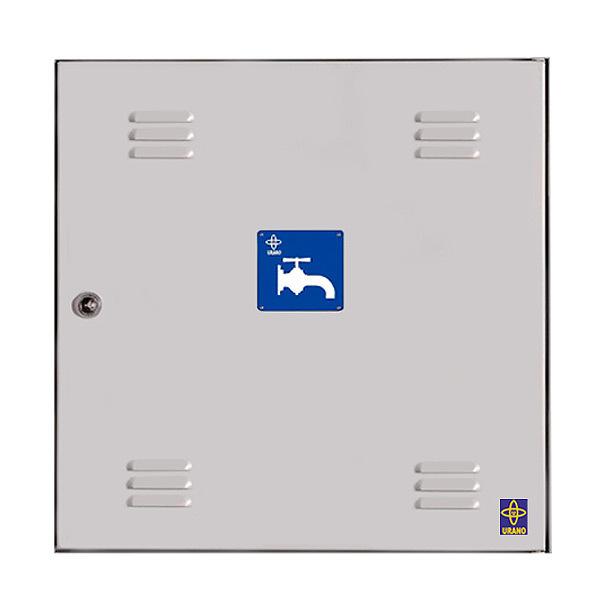 Puerta met lica para contador de agua de 30x30 for Precio puerta metalica trastero