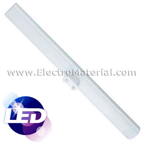 Linestra LED 30 cm 1 contact S14s with 5W Warm light