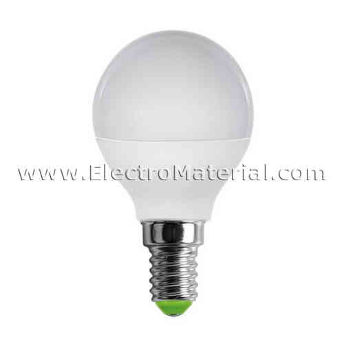 LED spherical E-14 3W Warm light