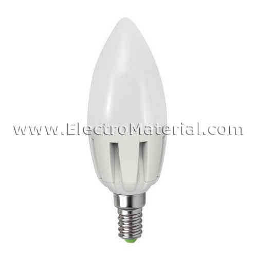 LED candle 7W E-14 Cold light