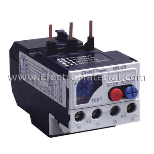 Thermal relay 25 A and adjustment 4 - 6 A | CHINT