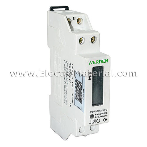 Single-phase energy meter 30A