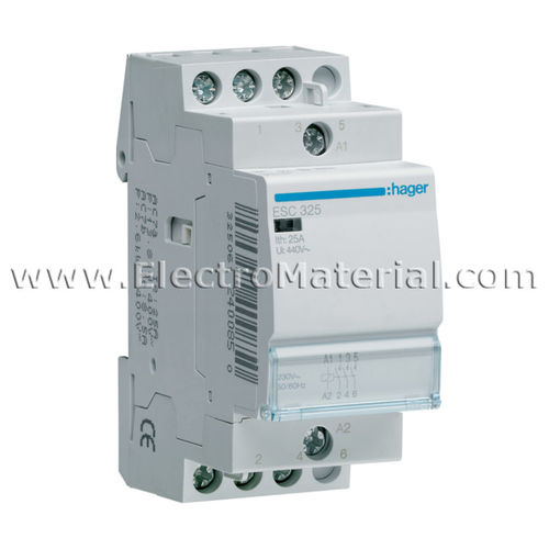 Modular Contactor 3NA of 25 A | HAGER