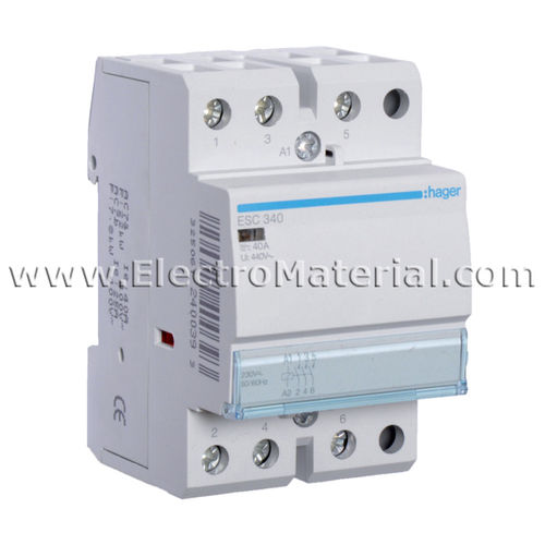 Modular Contactor 3NA of 40 A | HAGER
