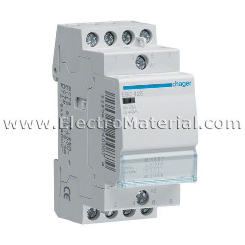 Modular Contactor 4NA of 25 A | HAGER
