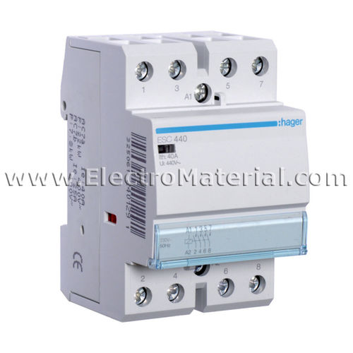 Modular Contactor 4NA of 40 A | HAGER