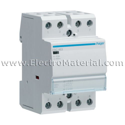 Modular Contactor 4NA of 63 A | HAGER