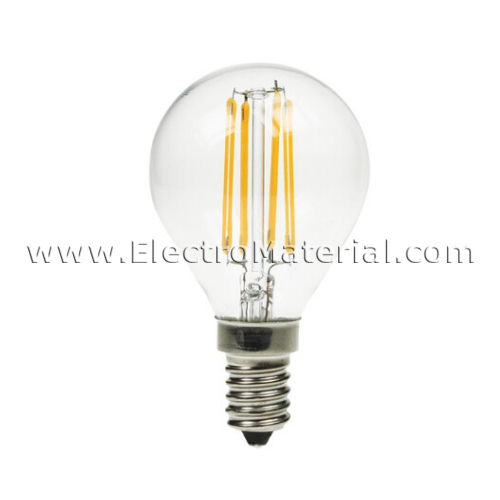 Spherical RetroLED Filament E-14 4W Warm Light