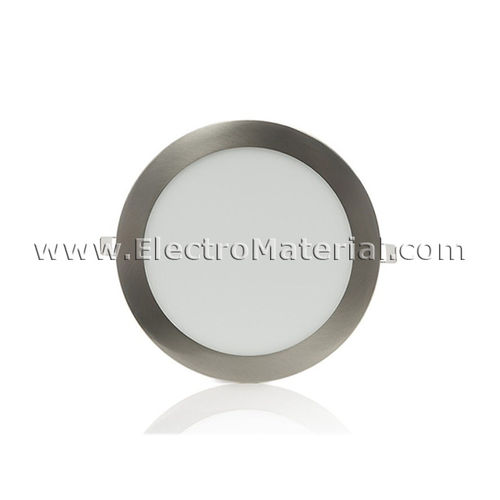 Downlight LED Circular Extra Satin Nickel 3W Cold Light 6000K