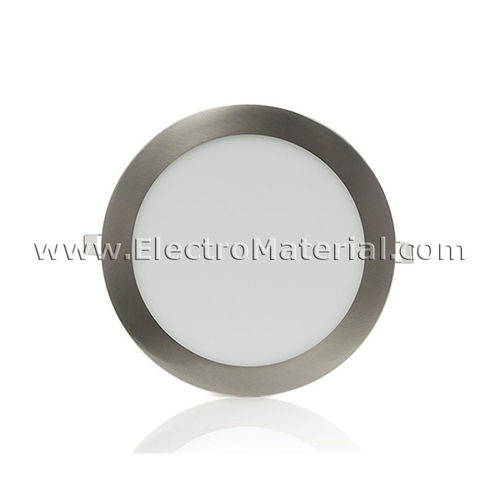 Downlight LED Circular Extra Satin Nickel 6W Warm Light 6000K