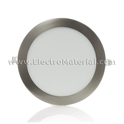 Downlight LED Circular Extra Satin Nickel 12W Warm Light 6000K