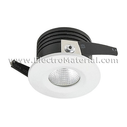 LED spotlight COB circular fixed in White of 3W Daylight 4200K