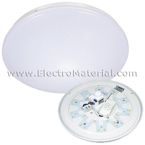 18W LED Ceiling Light 4500K Daylight with Motion Sensor and Twilight