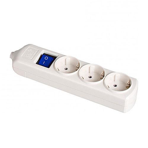 Base de superficie sin cable y con interruptor de 3 enchufes - Precio de enchufes ...