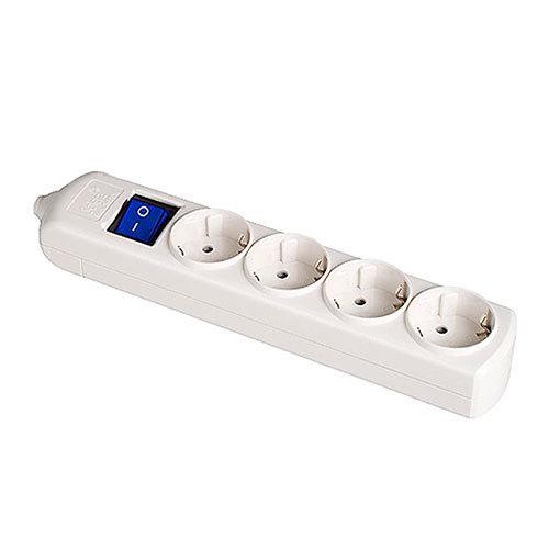 Base de superficie sin cable y con interruptor de 4 enchufes - Precio de enchufes ...