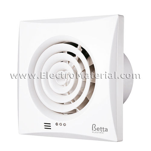 Bathroom extractor with anti-return gate 30 dB of 15W | Betta BE1060