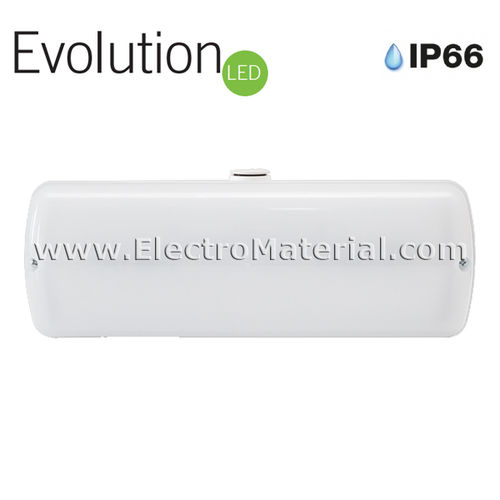 Emergencia estanca IP66 de LED de 150 lúmenes