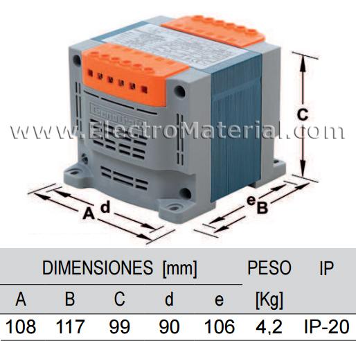 Transformador de piscina para foco de 300 W - ElectroMaterial